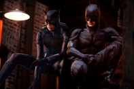 Marion Cotillard as Catwoman with Nolan's Batman