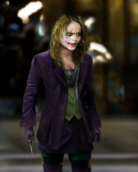 The Dark Knight gender swapped - The Jokeress