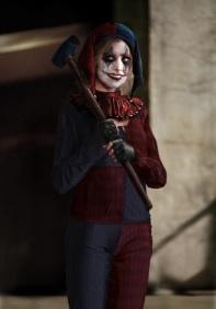Kristen Bell as Harley Quinn concept