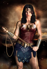 Jaimie Alexander as Wonder Woman solo movie costume concept