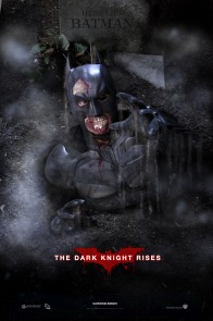 The Dark Knight Rises Parody poster