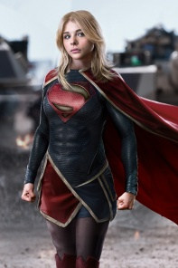 Chloe Moretz as Supergirl DCEU concept